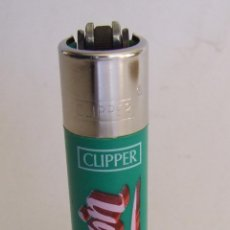 Mecheros: MECHERO ENCENDEDOR CLIPPER MEXICO SERIE MEXICAN SLANG 3/4 CHINGON. Lote 194713062