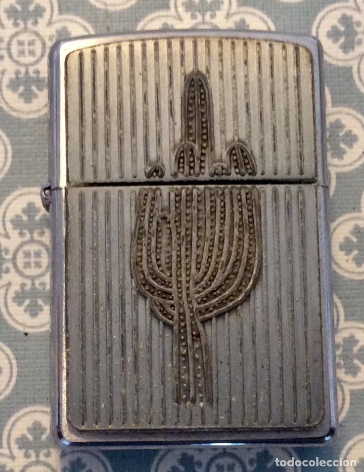 ZIPPO CACTUS (Coleccionismo - Objetos para Fumar - Mecheros)