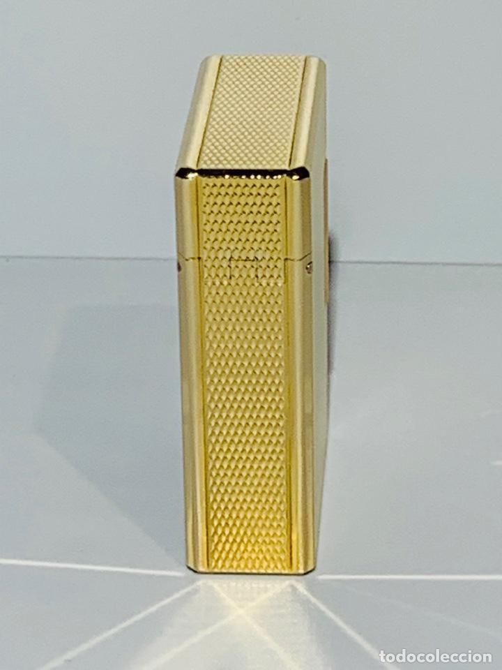 Mecheros: S.T. DuPont Encendedor / Briquet / Lighter. Plaqué / Gold Plated. '60/70s. Funcionando. - Foto 5 - 195332630
