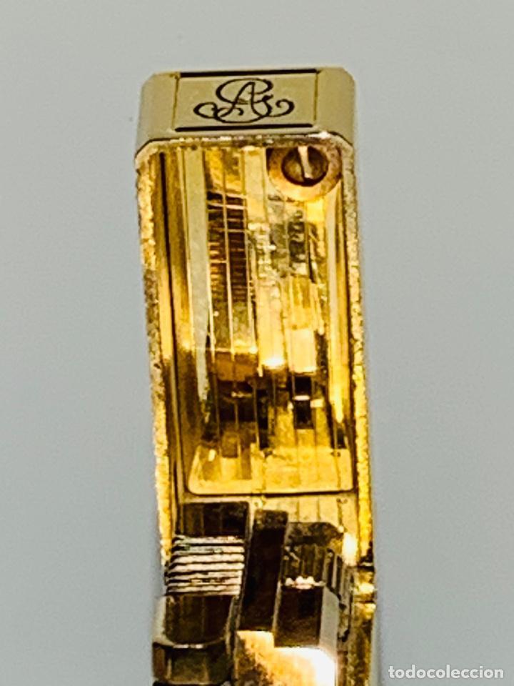 Mecheros: S.T. DuPont Encendedor / Briquet / Lighter. Plaqué / Gold Plated. '60/70s. Funcionando. - Foto 8 - 195332630