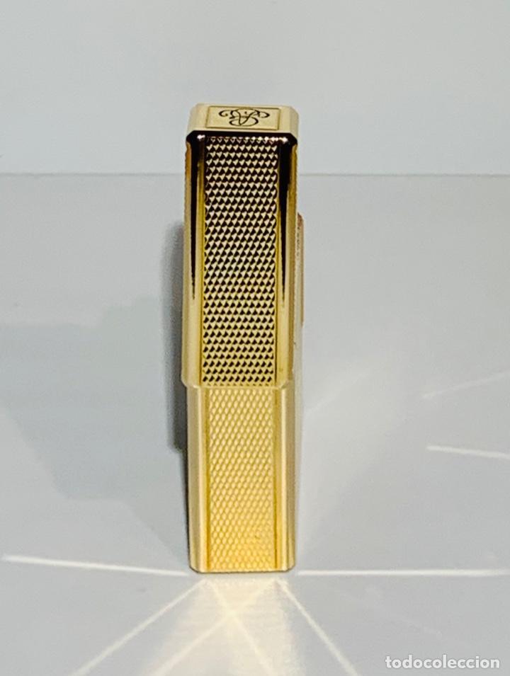 Mecheros: S.T. DuPont Encendedor / Briquet / Lighter. Plaqué / Gold Plated. '60/70s. Funcionando. - Foto 10 - 195332630