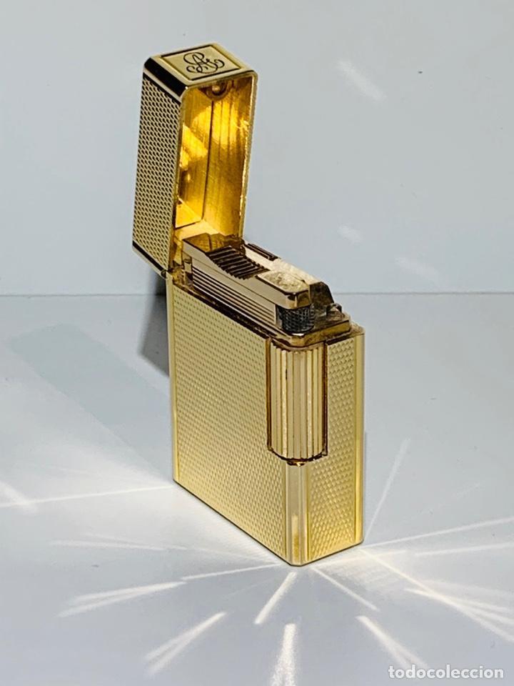 Mecheros: S.T. DuPont Encendedor / Briquet / Lighter. Plaqué / Gold Plated. '60/70s. Funcionando. - Foto 11 - 195332630
