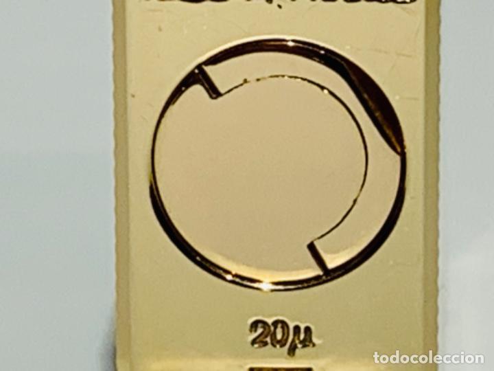 Mecheros: S.T. DuPont Encendedor / Briquet / Lighter. Plaqué / Gold Plated. '60/70s. Funcionando. - Foto 13 - 195332630