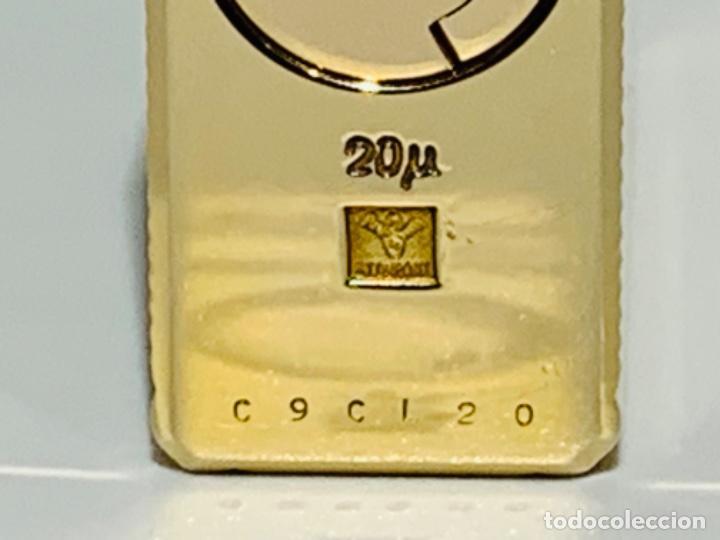 Mecheros: S.T. DuPont Encendedor / Briquet / Lighter. Plaqué / Gold Plated. '60/70s. Funcionando. - Foto 14 - 195332630