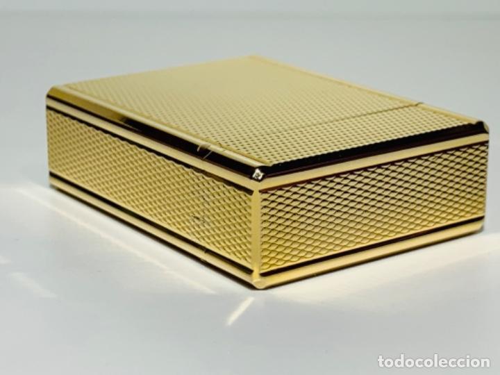 Mecheros: S.T. DuPont Encendedor / Briquet / Lighter. Plaqué / Gold Plated. '60/70s. Funcionando. - Foto 17 - 195332630