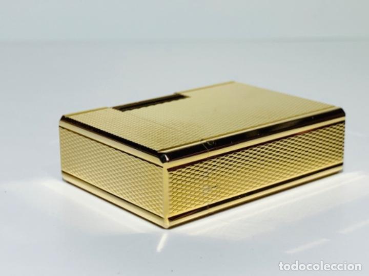 Mecheros: S.T. DuPont Encendedor / Briquet / Lighter. Plaqué / Gold Plated. '60/70s. Funcionando. - Foto 20 - 195332630