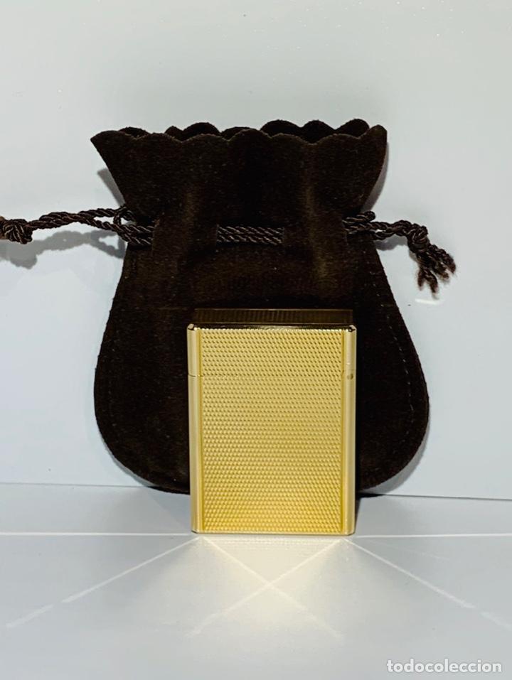 Mecheros: S.T. DuPont Encendedor / Briquet / Lighter. Plaqué / Gold Plated. '60/70s. Funcionando. - Foto 25 - 195332630