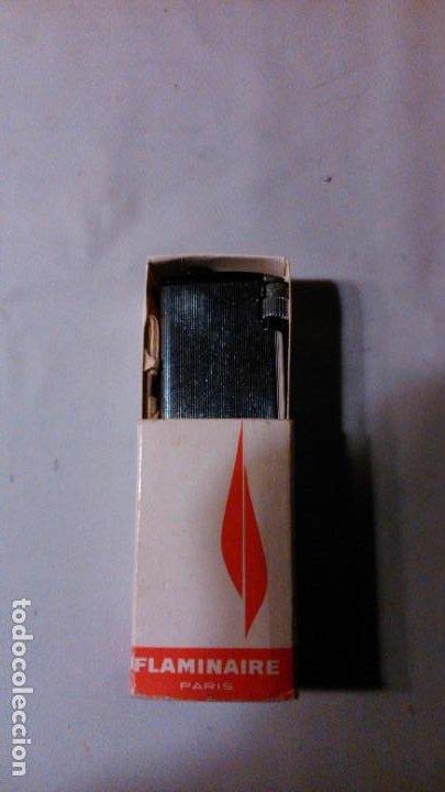 ANTIGUO ENCENDEDOR FLAMINAIRE FLEURY- PARÍS (Coleccionismo - Objetos para Fumar - Mecheros)