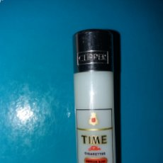 Mecheros: RARO MECHERO CLIPPER ANTIGUO CIGARRETS TIME. Lote 195390633