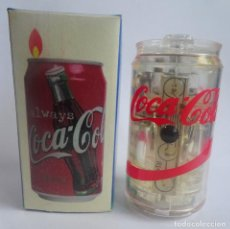 Mecheros: CURIOSO MECHERO LIGHTER , COCA COLA, CON SU CAJA , VER FOTOS. Lote 197937220