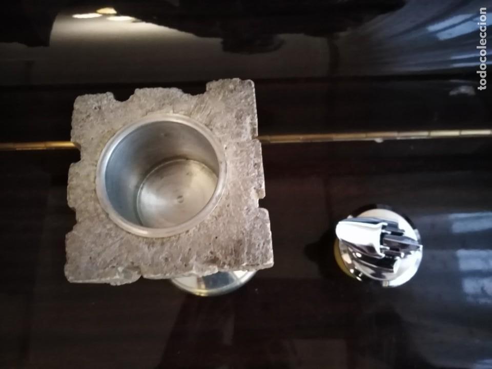 Mecheros: Mechero antiguo sobremesa Ronson - Foto 3 - 199430353