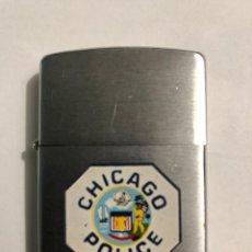 Mecheros: ENCENDEDOR MECHERO ZIPPO ORIGINAL CHICAGO POLICE. Lote 204628518