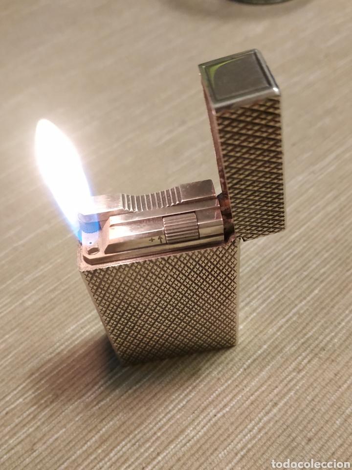 ENCENDEDOR DUPONT DE PLATA IMPECABLE ESTADO (Coleccionismo - Objetos para Fumar - Mecheros)