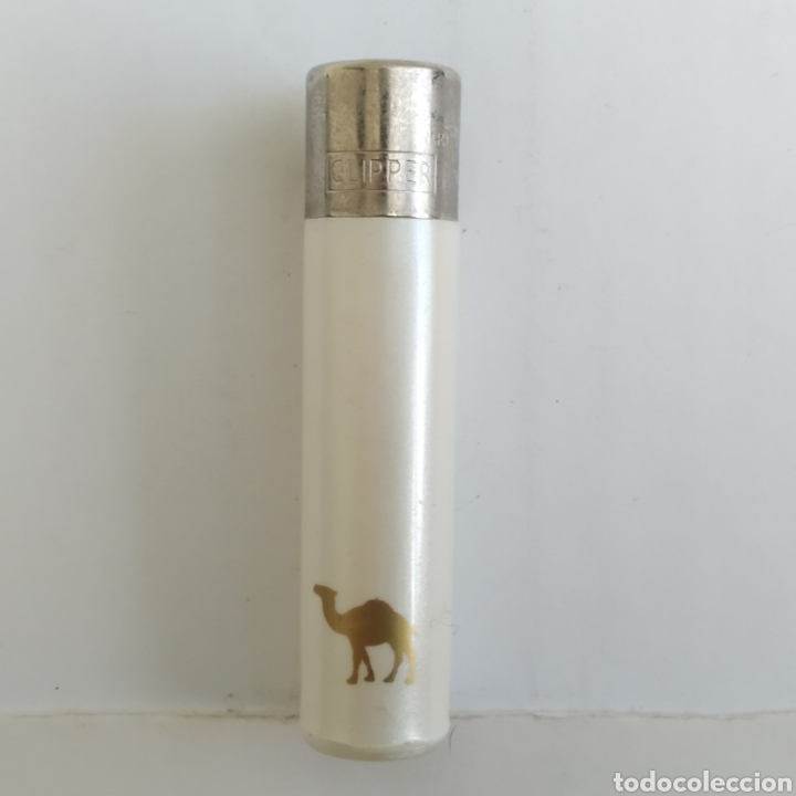 MECHERO CLIPPER PEQUEÑO PROMOCIONAL CAMEL LIGHT (Coleccionismo - Objetos para Fumar - Mecheros)