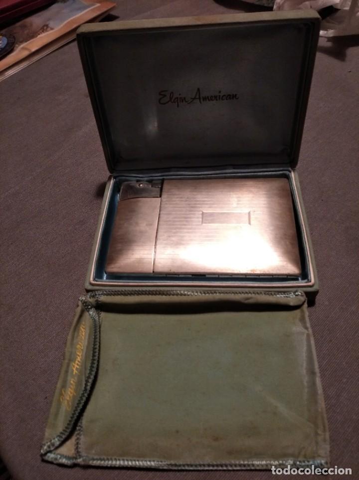 ANTIGUA PITILLERA MECHERO ELGIN AMERICAN AÑOS 60 (Coleccionismo - Objetos para Fumar - Mecheros)