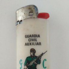 Mecheros: MECHERO BIC GUARDIA CIVIL GUARDAI AUXILIAR BAEZA. Lote 205867285