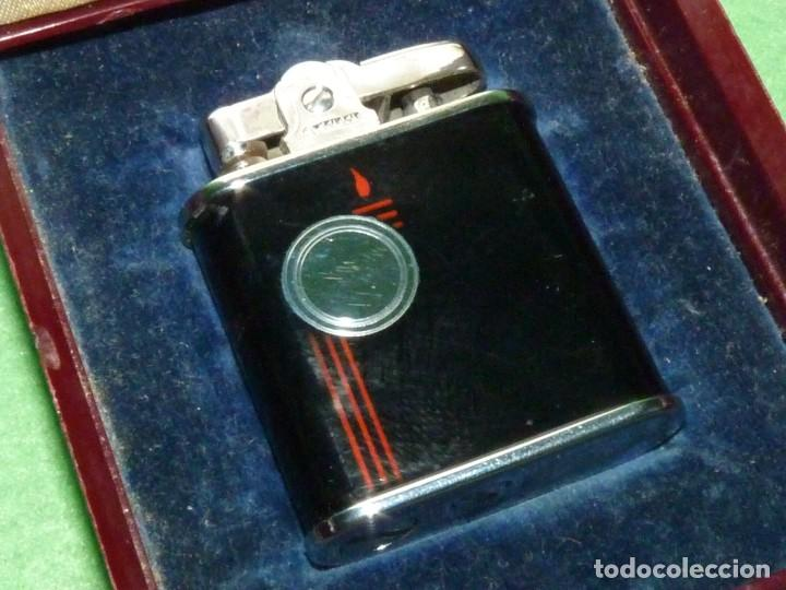 Mecheros: Elegante encendedor RONSON VIKING mechero vintage años 50 caja funda original colección - Foto 4 - 214577935