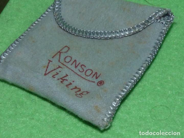 Mecheros: Elegante encendedor RONSON VIKING mechero vintage años 50 caja funda original colección - Foto 6 - 214577935