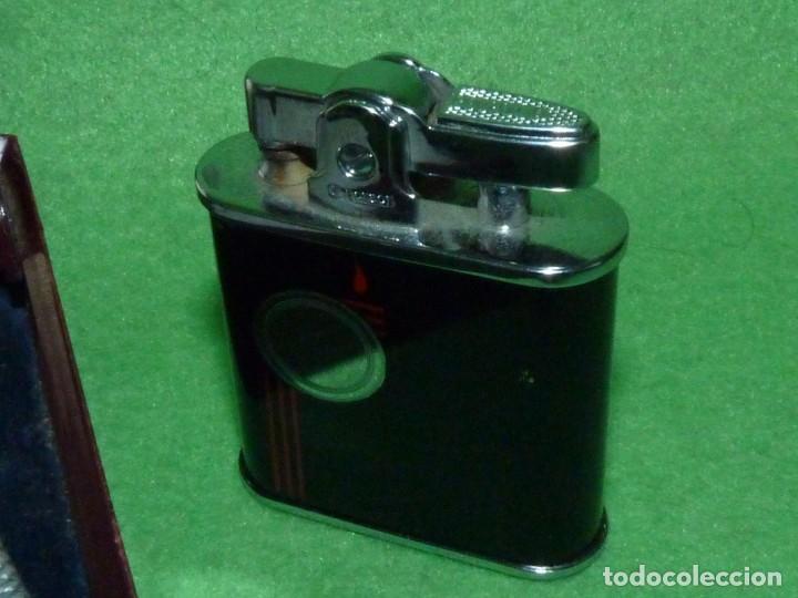 Mecheros: Elegante encendedor RONSON VIKING mechero vintage años 50 caja funda original colección - Foto 8 - 214577935