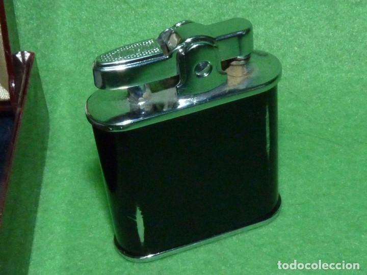 Mecheros: Elegante encendedor RONSON VIKING mechero vintage años 50 caja funda original colección - Foto 9 - 214577935