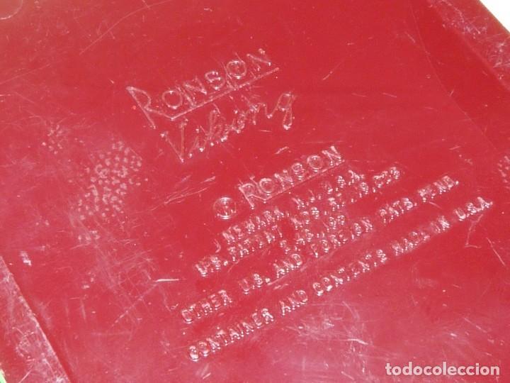 Mecheros: Elegante encendedor RONSON VIKING mechero vintage años 50 caja funda original colección - Foto 19 - 214577935