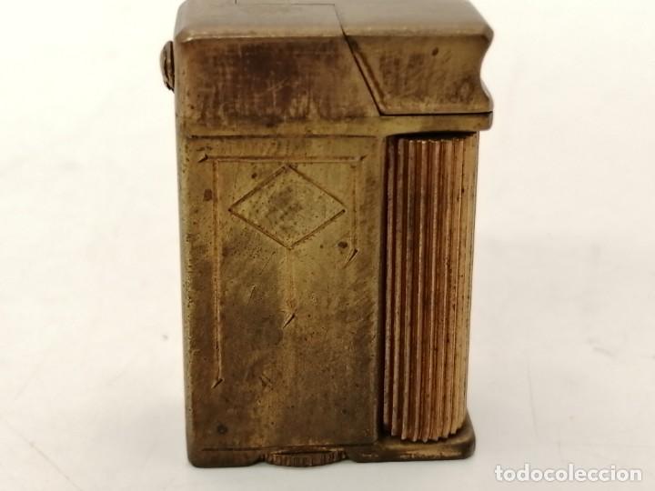 MECHERO MINIATURA GASOLINA, COSY-LONDON, (3,5X2,5) (Coleccionismo - Objetos para Fumar - Mecheros)