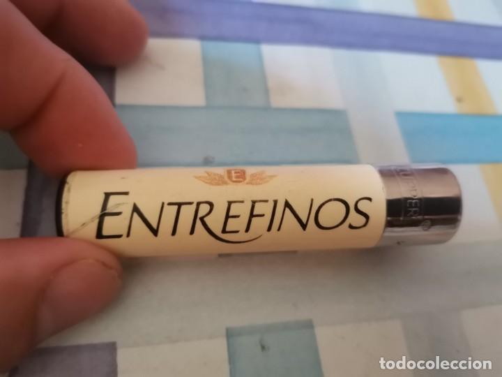 ANTIGUO Y MUY DIFÍCIL CLIPPER MECHERO TABACO PURITOS ENTREFINOS UNICO EN TC!!! (Coleccionismo - Objetos para Fumar - Mecheros)