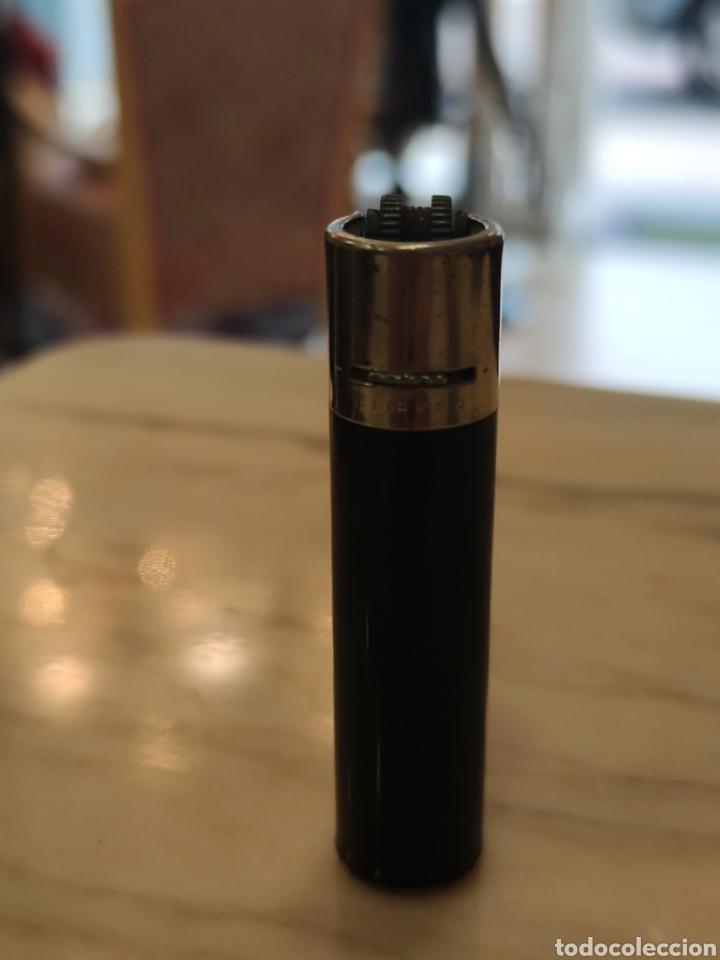 CLIPPER NEGRO REGULABLE 6 DIENTES (Coleccionismo - Objetos para Fumar - Mecheros)