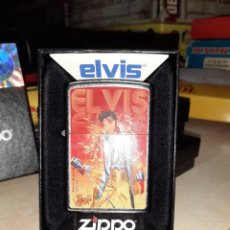 Mecheros: ENCENDEDOR ORIGINAL ZIPPO.ELVIS PRESLEY.MADE IN USA.. Lote 221508265