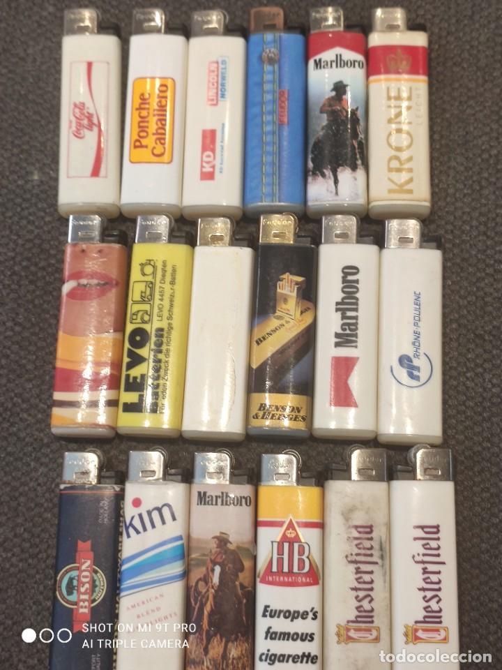 COLECCIÓN MECHEROS ANTIGUOS (Coleccionismo - Objetos para Fumar - Mecheros)