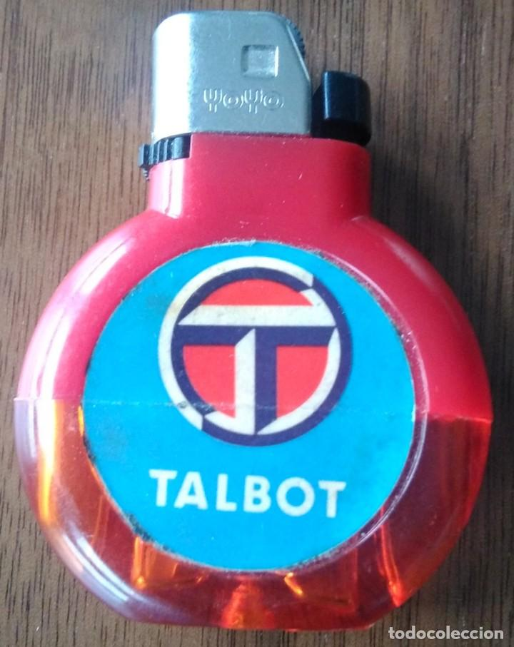 ANTIGUO MECHERO TALBOT (Coleccionismo - Objetos para Fumar - Mecheros)