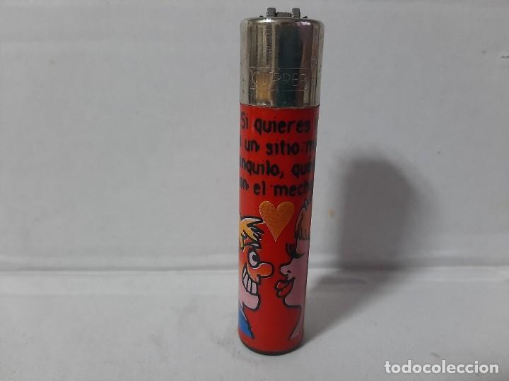 MECHERO CLIPPER, RASCADOR REDONDO (Coleccionismo - Objetos para Fumar - Mecheros)