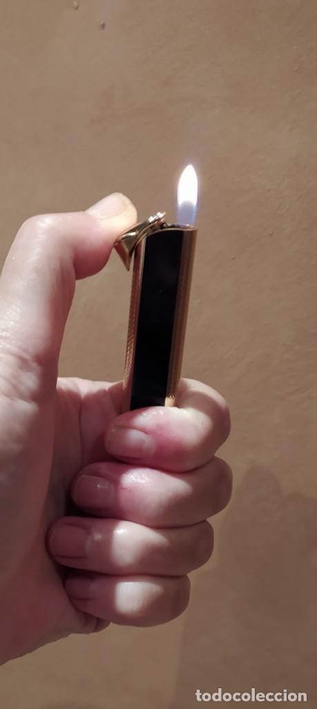 MECHERO I11 CORONA CHAPADO EN ORO (Coleccionismo - Objetos para Fumar - Mecheros)