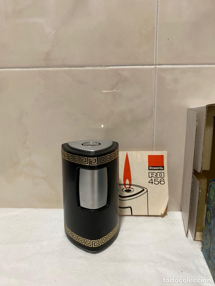 Mecheros: Antiguo merchero de sobremesa rowenta con caja original -móndelo ro456 - Foto 2 - 234419955