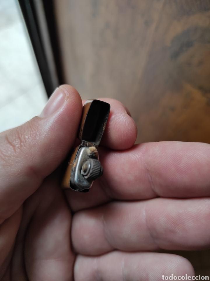 Mecheros: Antiguo Mini Mechero Tipo Zippo - - Foto 4 - 239373875