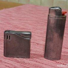 Briquets: MECHEROS PLATEADOS,. Lote 243498780