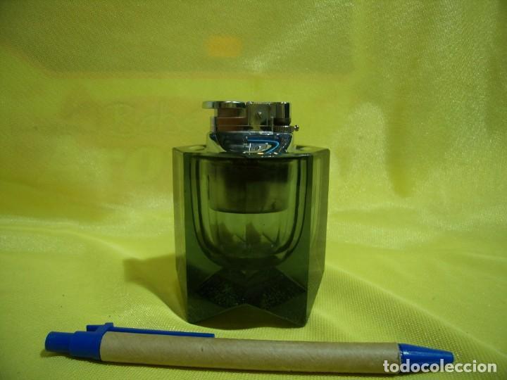 Mecheros: Mechero encendedor cristal, años 70, Nuevo sin usar. - Foto 3 - 247373195