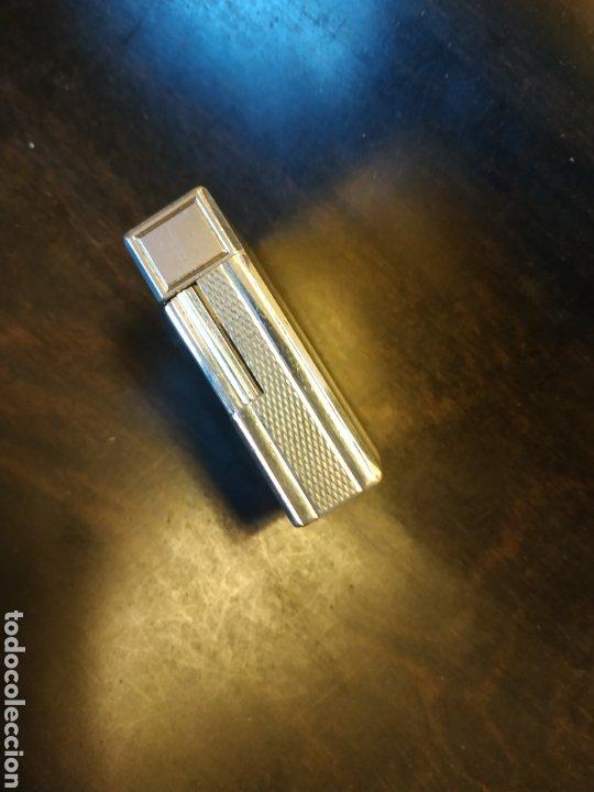 Mecheros: encendedor dupont de plata impecable - Foto 4 - 254333905