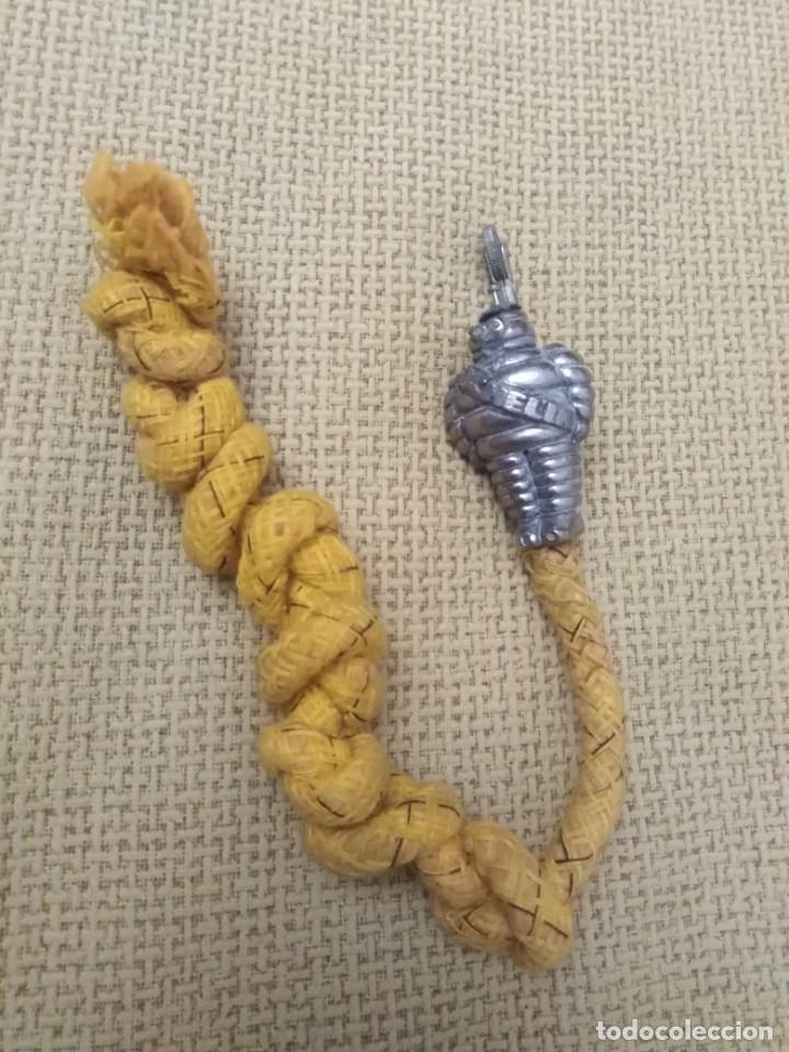 MECHERO MECHA MICHELÍN ANTIGUO A (Coleccionismo - Objetos para Fumar - Mecheros)