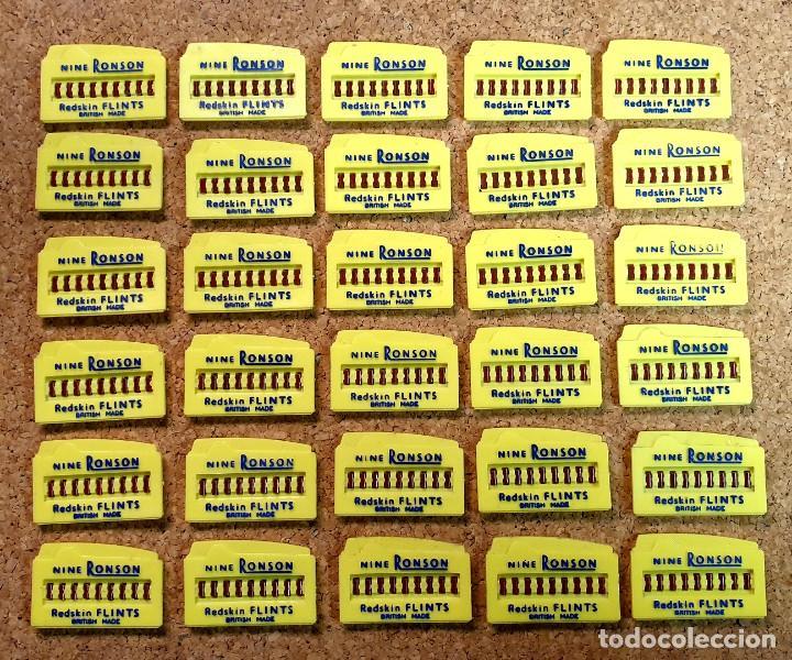 LOTE PIEDRAS MECHERO NINE RONSON (Coleccionismo - Objetos para Fumar - Mecheros)