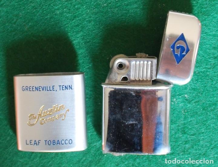 Mecheros: Encendedor Vintage RONSON Typhoon - Publicidad: The Austin Company - Foto 4 - 263134890