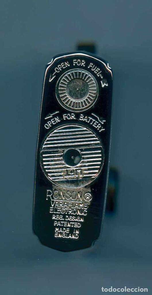Mecheros: Encendedor Vintage - RONSON Varaflame Electronic - Made in England - Foto 5 - 263175090
