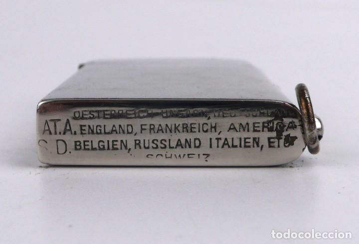 Mecheros: Dubsky Record - mechero de gasolina semi automático - Austria Ca.1910 - Foto 5 - 266268048