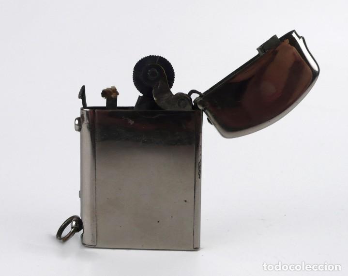 DUBSKY RECORD - MECHERO DE GASOLINA SEMI AUTOMÁTICO - AUSTRIA CA.1910 (Coleccionismo - Objetos para Fumar - Mecheros)