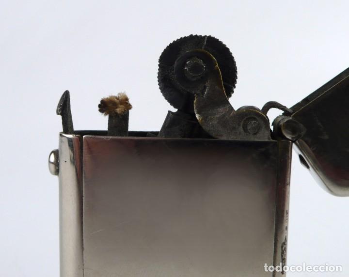 Mecheros: Dubsky Record - mechero de gasolina semi automático - Austria Ca.1910 - Foto 3 - 266268048