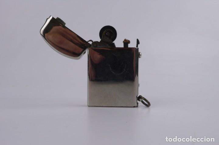 Mecheros: Dubsky Record - mechero de gasolina semi automático - Austria Ca.1910 - Foto 2 - 266268048