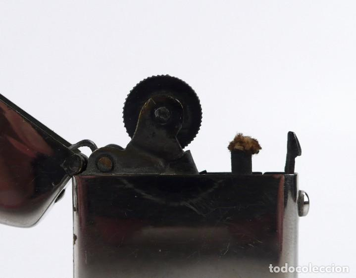 Mecheros: Dubsky Record - mechero de gasolina semi automático - Austria Ca.1910 - Foto 10 - 266268048