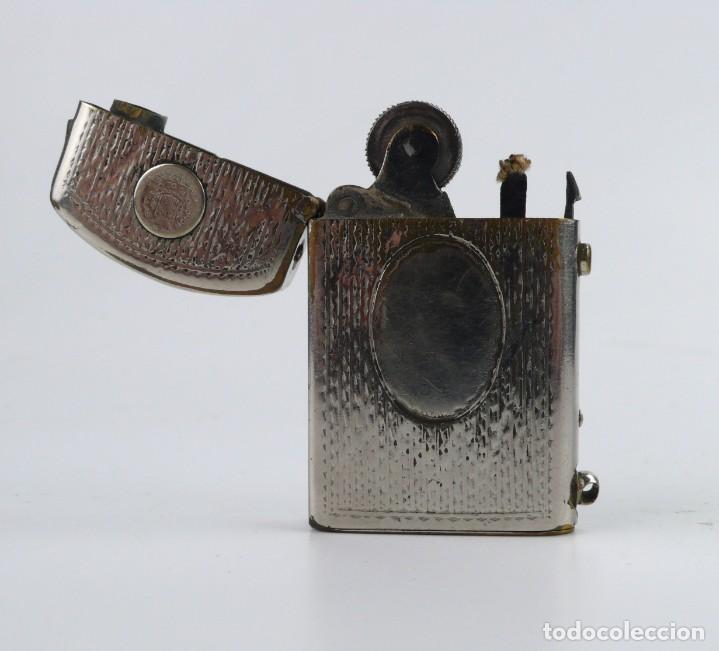 Mecheros: Dubsky Record - mechero de gasolina semi automático - Austria Ca.1910 - Foto 10 - 266269788