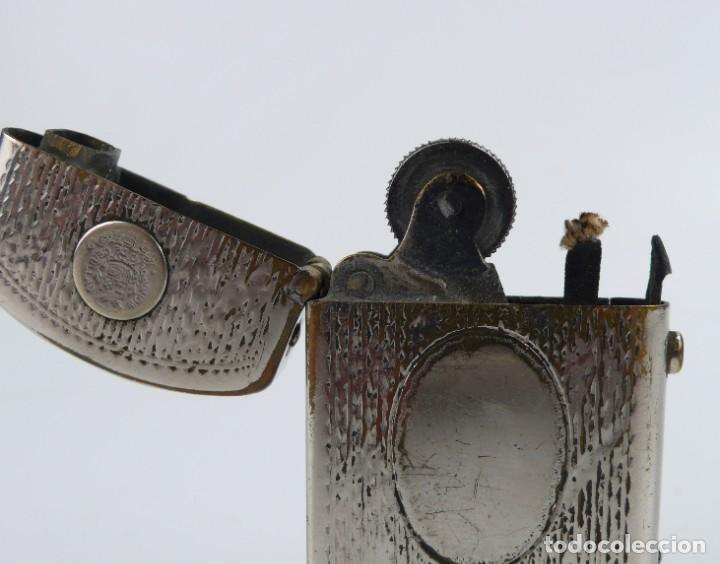 Mecheros: Dubsky Record - mechero de gasolina semi automático - Austria Ca.1910 - Foto 4 - 266269788