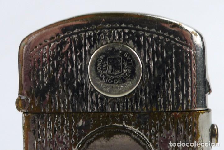 Mecheros: Dubsky Record - mechero de gasolina semi automático - Austria Ca.1910 - Foto 5 - 266269788